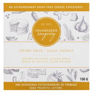 Fauxmagerie Zengarry Creamy Swiss Cashew Cheese 150 g