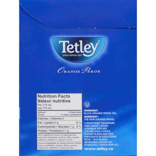 Tetley Orange Pekoe Tea 216 Bags