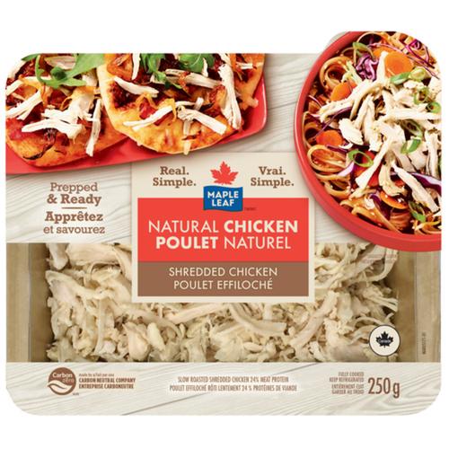Maple Leaf Natural Shredded Chicken 250 g