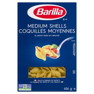 Barilla Medium Pasta Shells 454 g