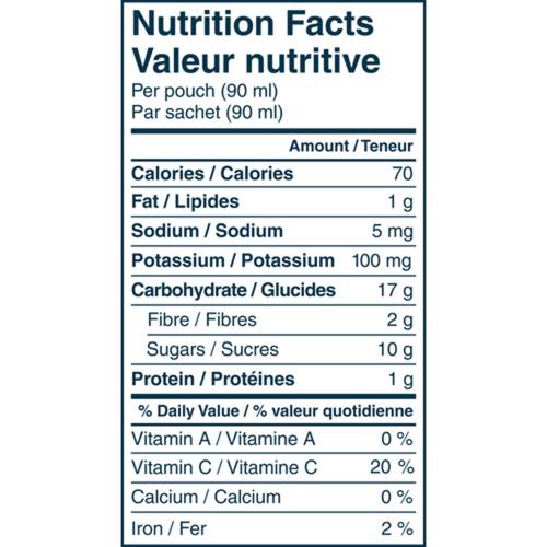 Gerber Organic Purée Banana, Mango, Avocado & Vanilla With Quinoa 99 g