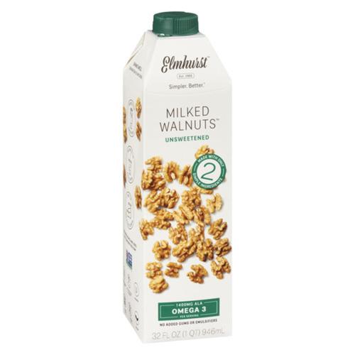 Elmhurst 1925 Unsweetened Milked Walnuts 946 ml