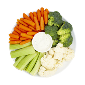 Vegetable Tray With Dip 1 kg