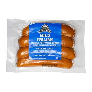 Farm Boy Smoked Sausages Mild Italian 500 g
