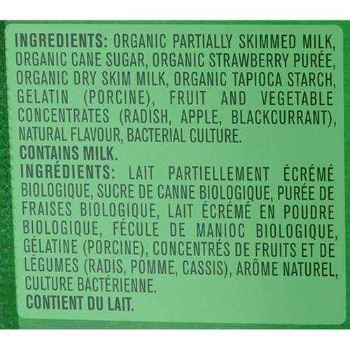 Gerber Organic Toddler Snacks Yogurt Melts Strawberry Banana 28 g