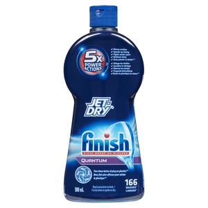 Finish Quantum Jet-Dry Rinse Agent Dishwasher Cleaner 500 ml
