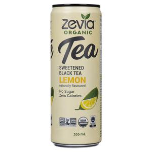 Zevia Organic Black Tea Lemon 355 ml