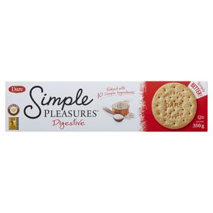 Dare Simple Pleasures Cookies Digestive 350 g