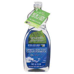 Seventh Generation Natural Free & Clear Dish Soap 739 ml