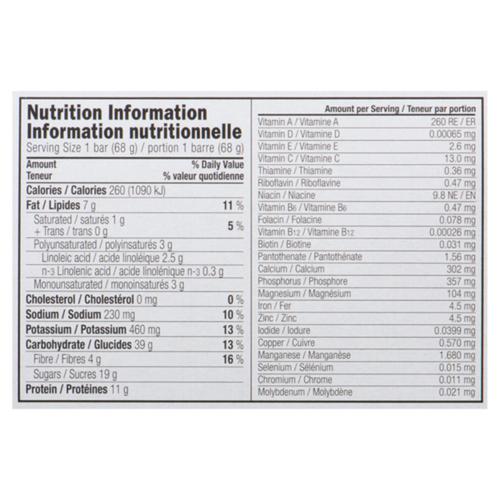 Clif Crunchy Peanut Butter Energy Bar 68 g