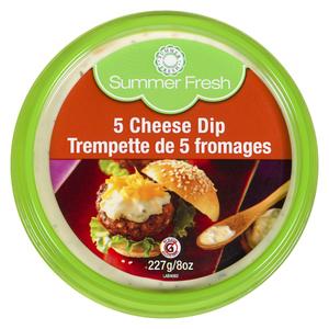 Summer Fresh 5 Cheese Hot Dip 227 g