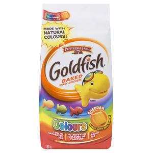 Pepperidge Farm Goldfish Crackers Cheddar Colours 180 g