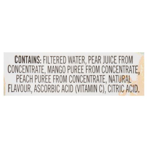 Minute Maid Juice No Sugar Added Peach Mango 8 x 200 ml