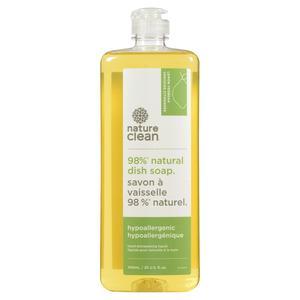 Nature Clean Hypoallergenic Hand Dishwashing Liquid Lemon Verbena 740 ml
