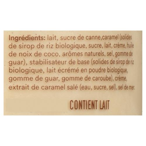 RIghteous Gelato Gluten-Free Gelato Sea Salted Caramel 562 ml