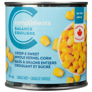 Compliments Balance Salt-Free Crispy & Sweet Corn 341 mL