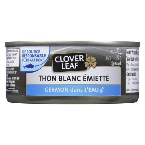 Clover Leaf Flaked White Albacore Tuna 170 g