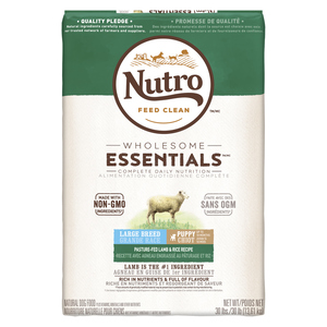 Nutro Wholesome Essentials Food Lamb & Rice Large Breed Puppy Food 13.61 kg