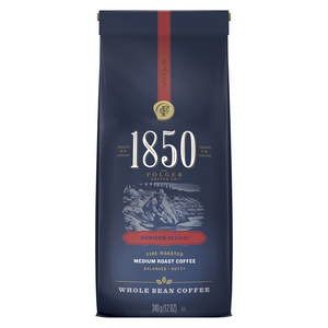 Folgers Whole Bean Coffee Pioneer Blend Medium Roast 340 g
