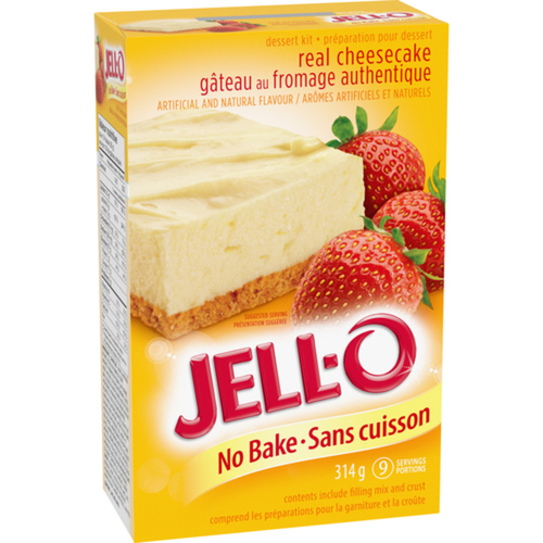 Jell-O No Bake Classic Cheesecake Dessert Kit