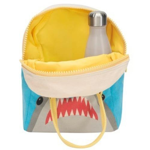 Fluf Zippered Lunch Shark 1 EA