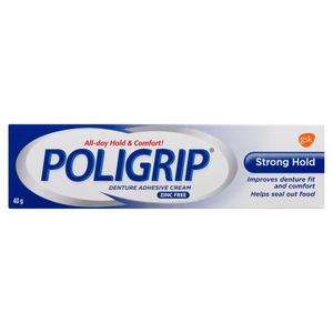 Poligrip Strong Hold Denture Adhesive 40 g