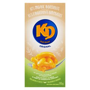 Kraft Dinner Simply Macaroni & Cheese - Original 170 g