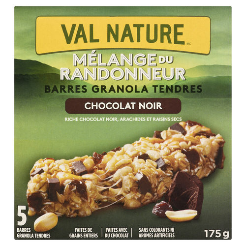Nature Valley Chewy Dark Chocolate Trail Mix Bars 5 x 35 g