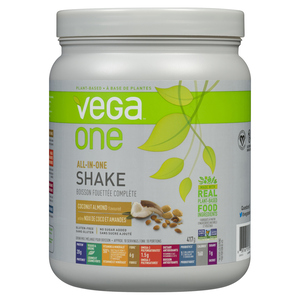 Vega Supplement All In One Shake Coconut Almond Small Tub 417 g