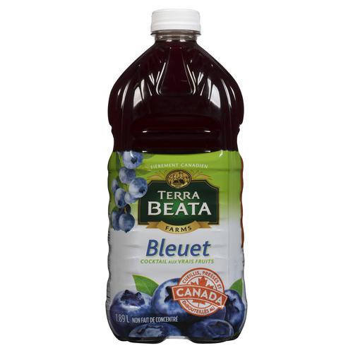 Terra Beata Farms Blueberry Fruit Cocktail 1.89 L