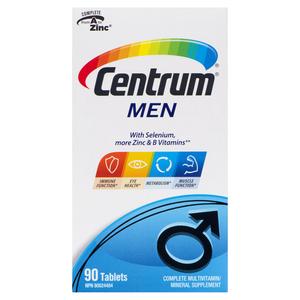 Centrum Vitamins For Men 90 Tablets