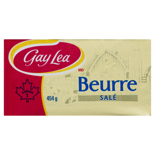 Gay Lea Salted Butter 454 g