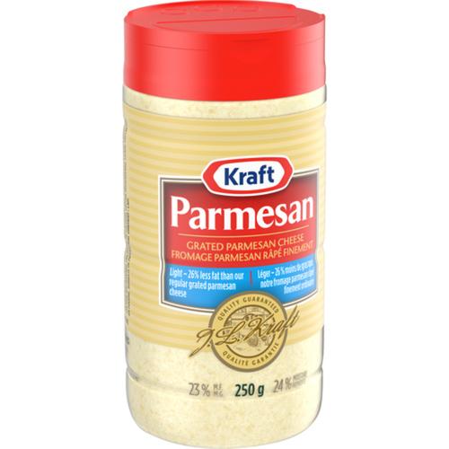 Kraft Light Grated Parmesan Cheese 250 g