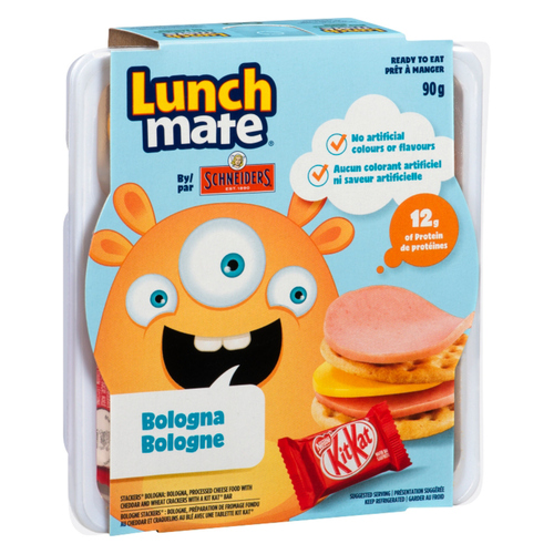 Schneiders Lunch Mate Bologna Lunch Kit 90 g