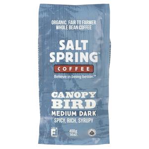 Salt Spring Coffee Canopy Bird Medium Roast 400 g