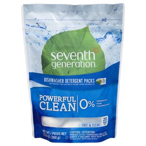 Seventh Generation Free & Clear Dish Detergent 20 EA