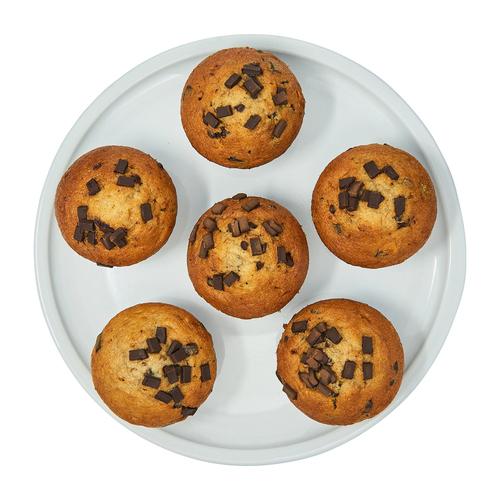 Compliments Banana Chocolate Chunk Muffins 600 g
