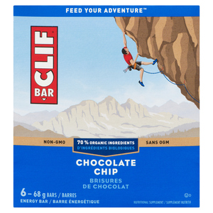 Clif Energy Bars Chocolate Chip 6 x 68g