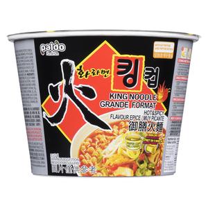 Paldo King Noodle Hot & Spicy Soup Cup 110 g