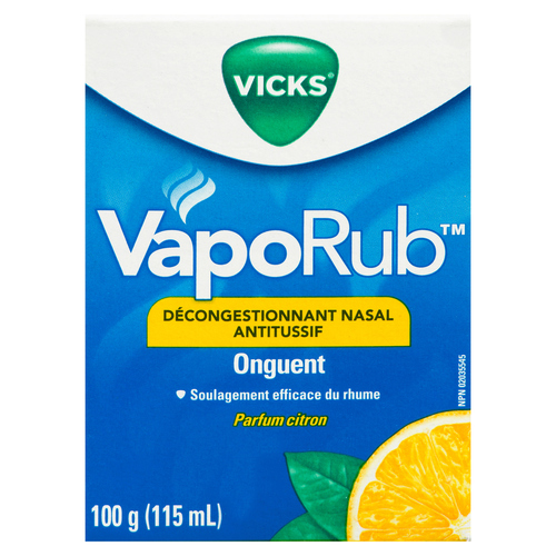 Vicks Vaporub Jar Lemon 115 ml
