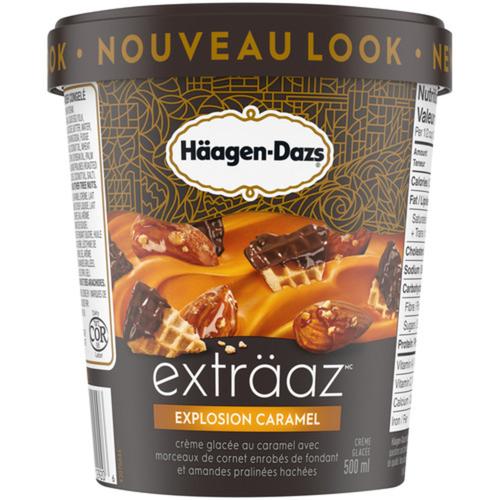 Häagen-Dazs Ice Cream Caramel Cone Explosion 500 ml