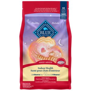 Blue Buffalo Indoor Cat Food Salmon 0.9 kg