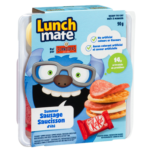 Schneiders Lunch Mate Summer Sausage Lunch Kit 90 g
