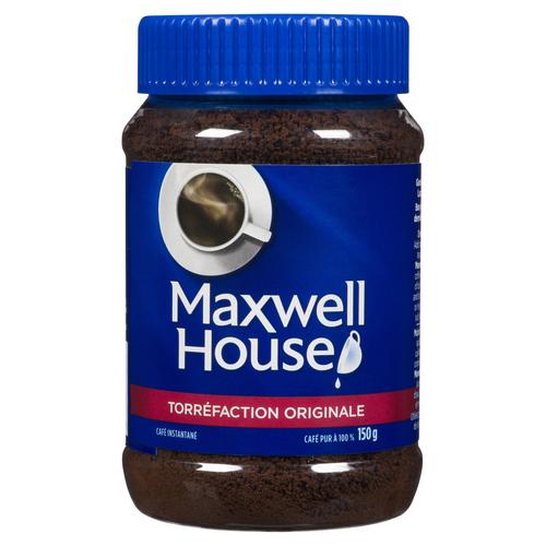 Maxwell House Original Roast Instant Coffee 150 g