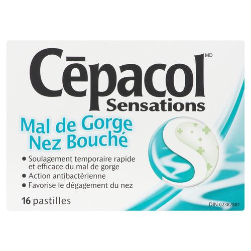 Cepacol Extra Strength Sore Throat Lozenges 16 EA