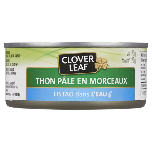 Clover Leaf Chunk Light Tuna Skipjack In Water 170 g