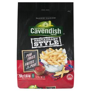 Cavendish Farms Restaurant Style Pub Fries 750 g