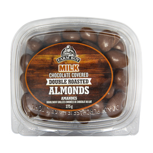 Farm Boy Double Roasted Almonds Milk Chocolate Covered 275 g
