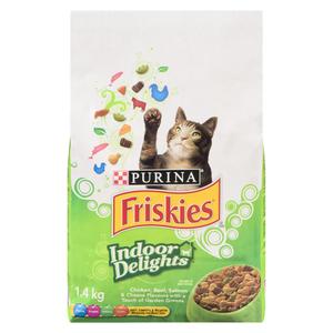 Friskies Dry Cat Food Indoor Delights 1.4 kg