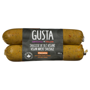 Gusta Vegan Wheat Italiana Sausage 350 g